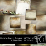 Autumn Journey Paper Pack-$3.99 (MagicalReality Designs)