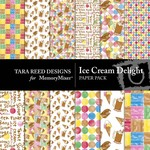 Ice Cream Delight Paper Pack-$3.49 (Tara Reed Designs)