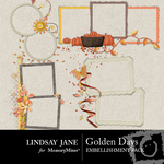 Golden Days Frame Pack-$1.99 (Lindsay Jane)