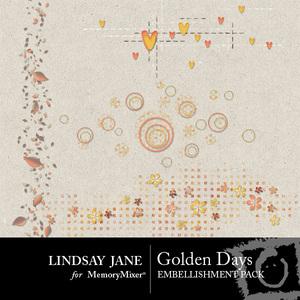 Golden days scatterz medium