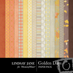 Golden Days Paper Pack-$3.99 (Lindsay Jane)
