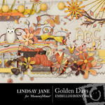 Golden Days Embellishment Pack-$3.49 (Lindsay Jane)