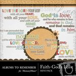 Gods Love Mini Pack-$1.99 (Albums to Remember)