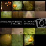 Falling Magic Paper Pack 2-$3.99 (MagicalReality Designs)
