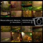 Falling Magic Paper Pack 1-$4.49 (MagicalReality Designs)