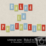 Baked to Perfection Alphabet Pack-$1.99 (Lindsay Jane)