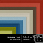 Baked to Perfection Embossed Paper Pack-$2.49 (Lindsay Jane)