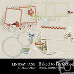Baked to Perfection Frame Pack-$1.99 (Lindsay Jane)