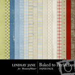 Baked to Perfection Paper Pack-$3.99 (Lindsay Jane)