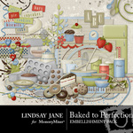 Baked to Perfection Embellishment Pack-$3.99 (Lindsay Jane)