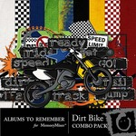 Dirt Bike Combo Pack-$4.49 (Albums to Remember)