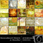 Autumn Glow Paper Pack-$4.49 (MagicalReality Designs)