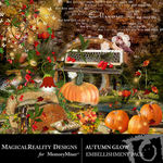 Autumn Glow Embellishment Pack-$3.49 (MagicalReality Designs)