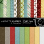 Faith Base Paper Pack-$3.99 (Albums to Remember)