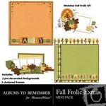 Fall Frolic Extras Mini Pack-$0.99 (Albums to Remember)