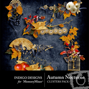Autumn nocturne clusters medium