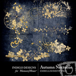 Autumn Nocturne Scatters-$1.99 (Indigo Designs)