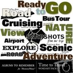 Travel wordart small