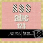Sophia KL Alphabet Pack-$0.99 (Karen Lewis)