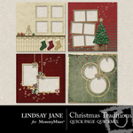 Christmas Traditions Quick Page QuickMix-$3.49 (Lindsay Jane)