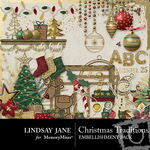 Christmas Traditions Embellishment Pack-$3.99 (Lindsay Jane)