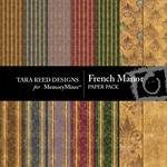 French Manor Paper Pack-$3.99 (Tara Reed Designs)