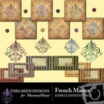 French Manor Embellishment Pack-$2.49 (Tara Reed Designs)