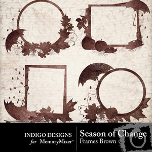 Season of change frames brown medium