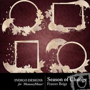 Season of change frames beige medium