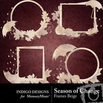 Season of Change Frames Beige-$1.99 (Indigo Designs)
