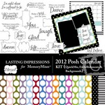 2012 posh calendar kit small