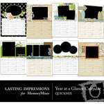 2012 Year at a Glance Calendars QuickMix-$2.99 (Lasting Impressions)