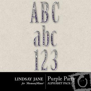 Purple party alpha medium