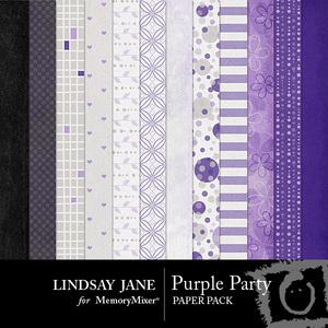 Purple party pp medium