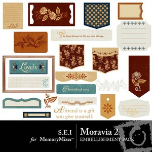 Moravia emb 2 medium
