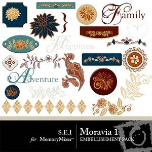 Moravia emb 1 medium