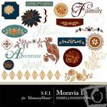Moravia Embellishment Pack 1-$2.25 (s.e.i)