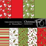 Christmas Cats Paper Pack-$3.49 (Tara Reed Designs)