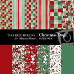 Christmas Dogs Paper Pack-$3.49 (Tara Reed Designs)