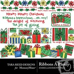 Ribbons A Plenty Embellishment Pack-$2.99 (Tara Reed Designs)