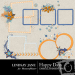 Happy Days Frame Pack-$1.99 (Lindsay Jane)