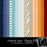 Happy Days Paper Pack-$3.99 (Lindsay Jane)