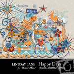 Happy Days Embellishment Pack-$3.99 (Lindsay Jane)