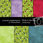 Holly Collection Paper Pack-$1.99 (Lasting Impressions)