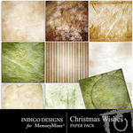 Christmas Wishes Paper Pack-$3.99 (Indigo Designs)