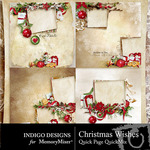 Christmas Wishes Quick Page QuickMix-$3.49 (Indigo Designs)