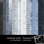 Snowed Under Paper Pack-$3.99 (Lindsay Jane)