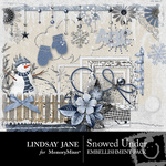 Snowed Under Embellishment Pack-$3.99 (Lindsay Jane)