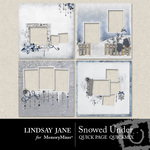 Snowed Under Quick Page QuickMix-$3.49 (Lindsay Jane)
