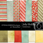 Jolly Holiday Paper Pack-$1.99 (Ettes and Company by Annette)
